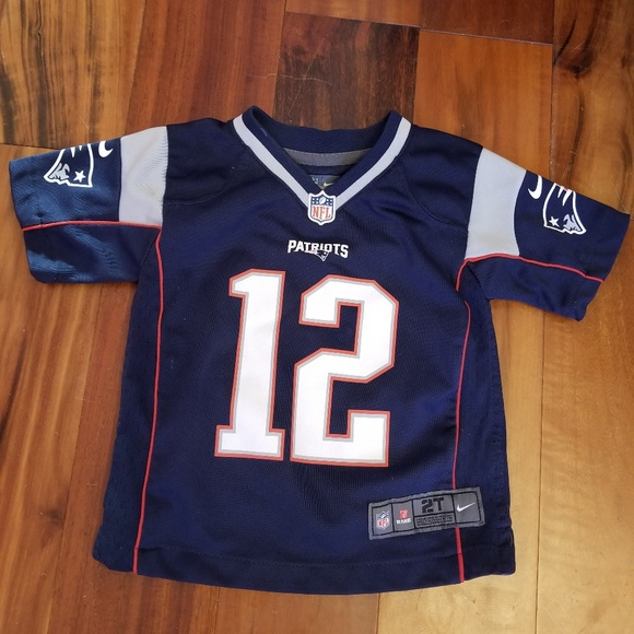 Tom Brady NFL Nike Jersey New England Patriots 2T